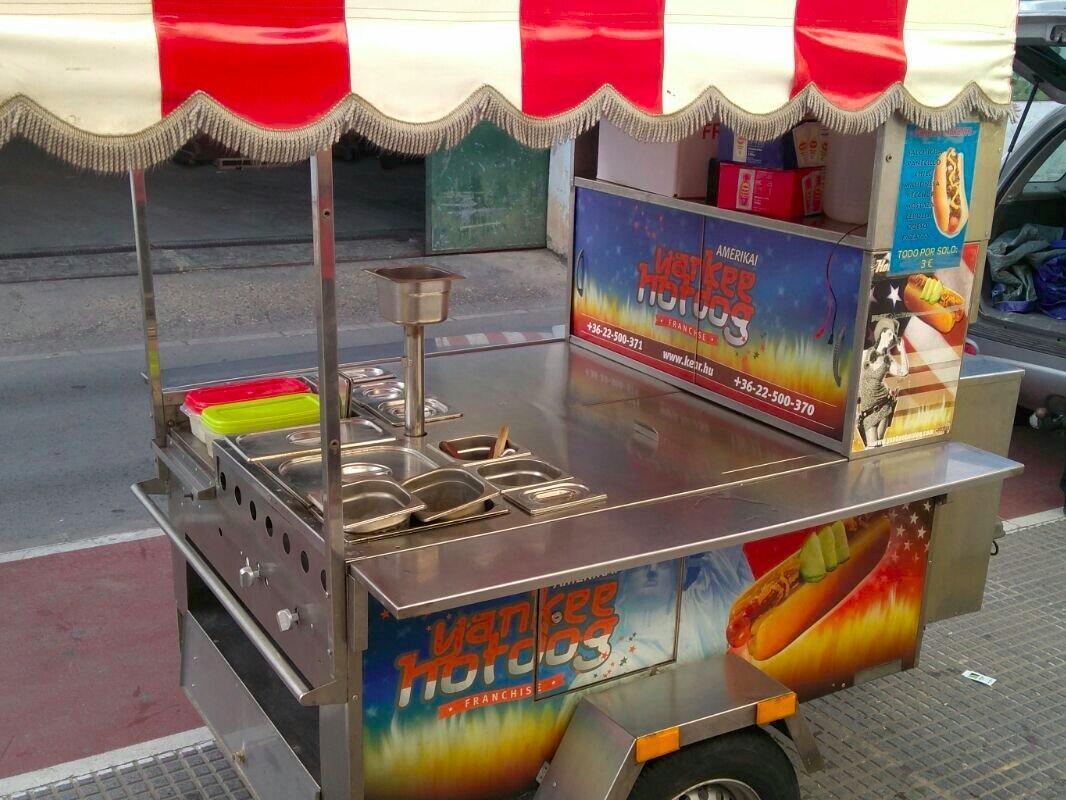 Imagen Carro de Hot Dog